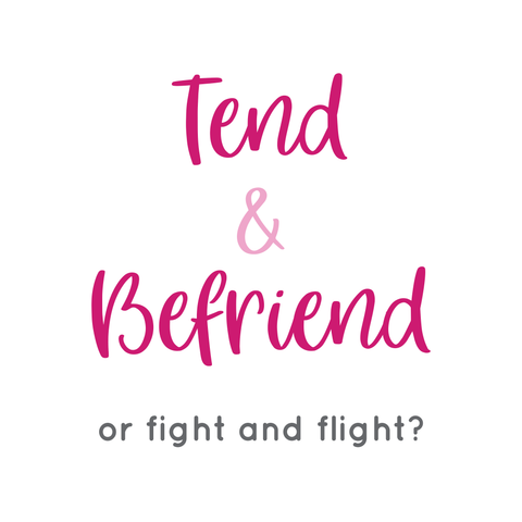 tend and befriend