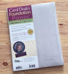 Foundation Paper by Carol Doak
