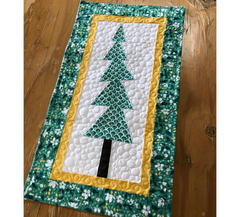 Wobbly Tree Quilt Pattern