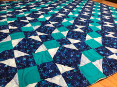 Leftover Night Scrappy Quilt Pattern