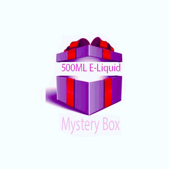 500ml E-liquid MYSTERY BOX + Nic Shots