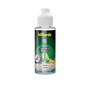Billiards Shisha Paan Range 100ml Shortfill 0mg (70VG/30PG)