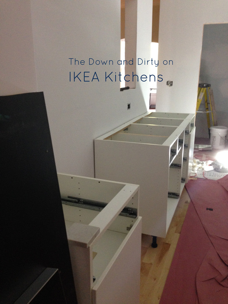 Down and Dirty on IKEA Kitchens