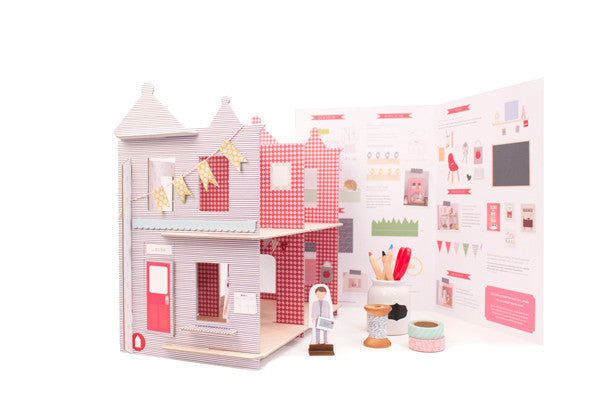 DIY Dollhouse: Logan Victorian Home