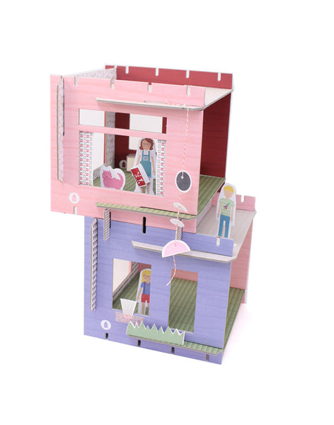 Modern DIY Paper Dollhouse