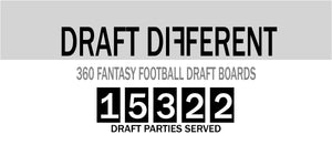 fantasy football draft board