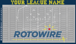 Official Rotowire Draft Board