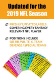 Save The Draft 2019 Draft Board and Player Label Kit - 2021 Fantasy Draft Board Kit
