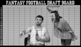 angry wife football draft board