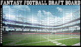 On Field - Hall of Fame - 2021 Fantasy Draft Board Kit