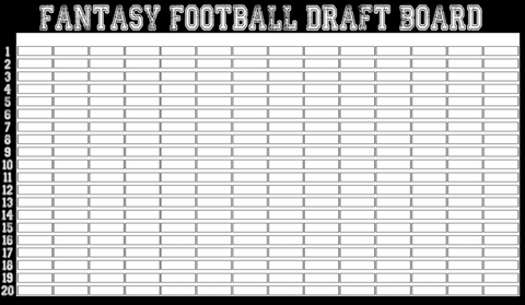 The Oh SH!T Draft Board - Guaranteed Overnight Shipping