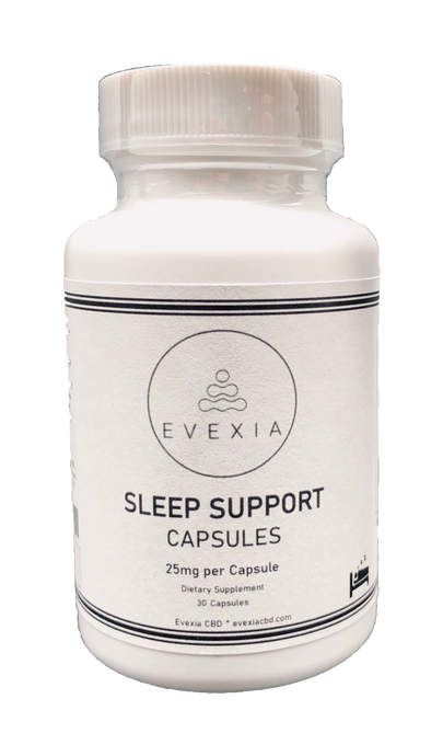 SLEEP SUPPORT CAPSULES- 750MG BROAD SPECTRUM CBD