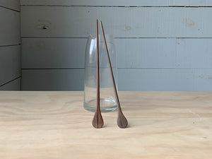 Organic Walnut Cocktail Stirrers