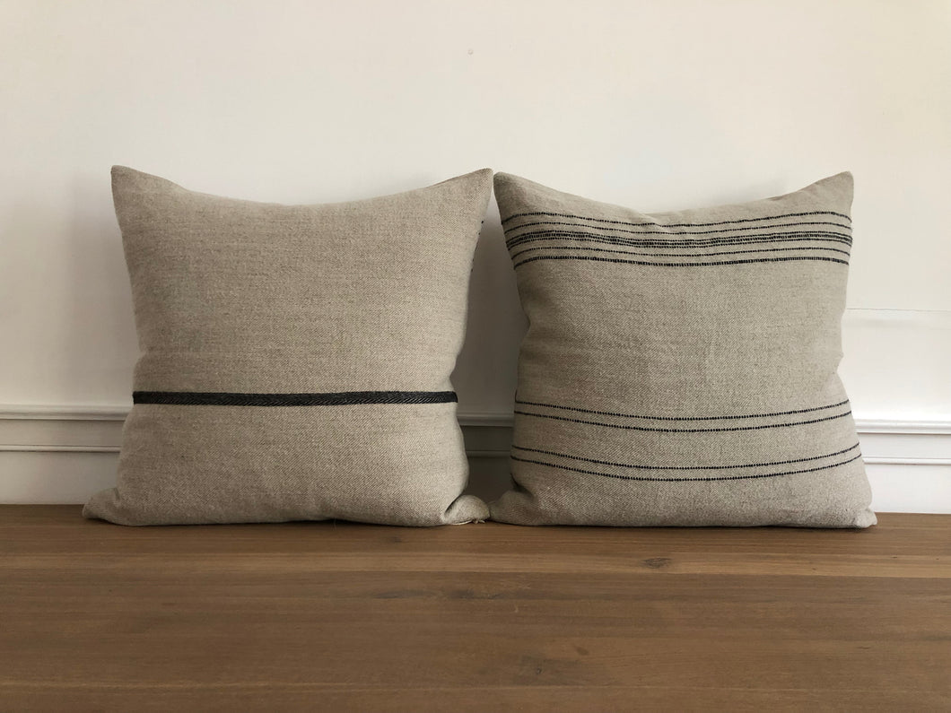 The Moroccan Stripe Pillow Cover