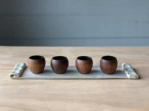 Sphere Cup Walnut