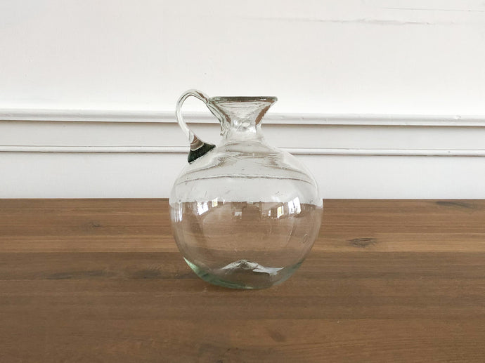 Hand Blown Glass Jug, #1