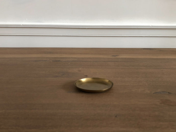 Brass Round Plate X-Small