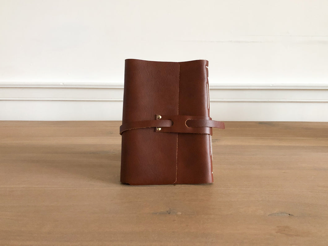 Leather Cabin Notebook