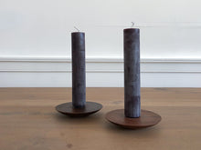 Walnut Candlestick Holder
