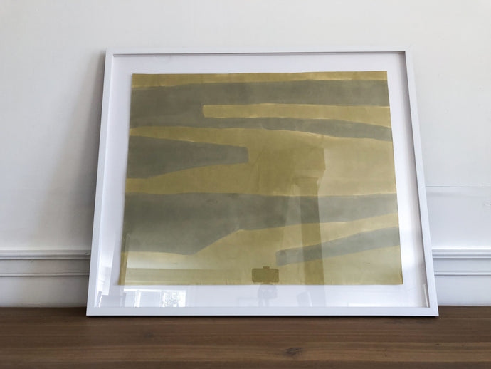 Framed Acrylic on Japanese Paper #8