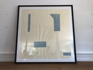 Framed Acrylic on Japanese Paper #1