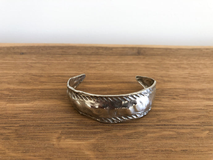 Feelings Cuff in Silver