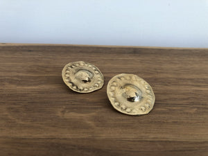 Mother Earrings in Brass