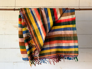 Woven Textile Throw