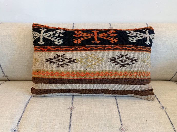 Small Kilim Rectangle pillow #6