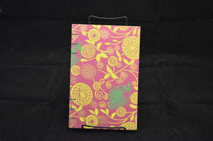 Purple & Green Floral Journal