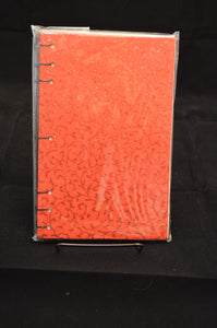 Red Glitter Journal