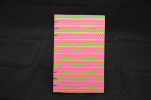 Pink Stripe Journal