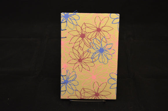 Beige Flower Journal