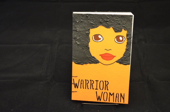 Orange Warrior Woman Journal