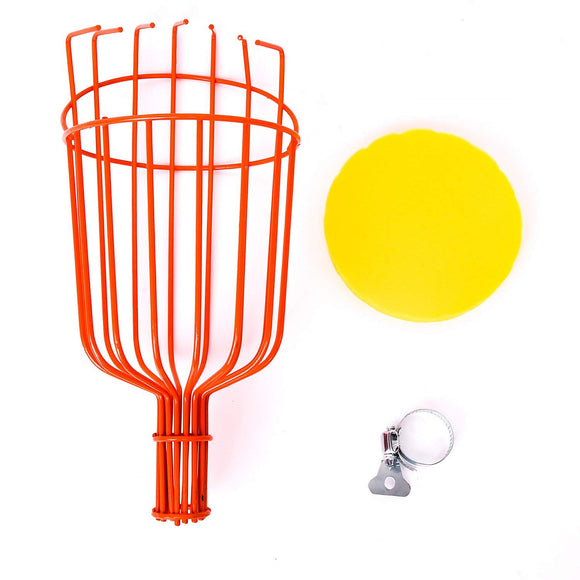 Metal Catch Fruit Picker Basket for Picking Orange Apple Avocado