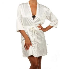 BASSONI 7026 SATIN ROBE