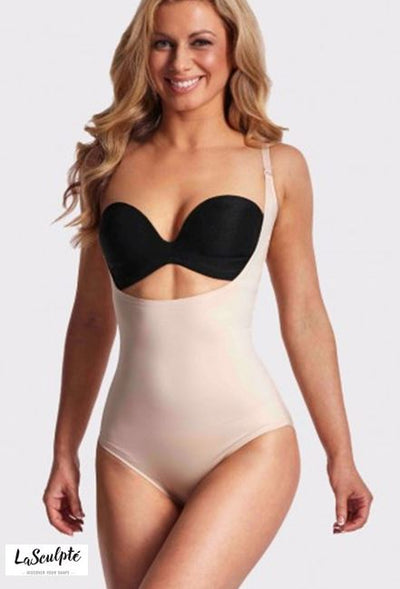 LASCULPTE SH1408NUE UNDERBUST SMOOTH SHAPING BODYSUIT