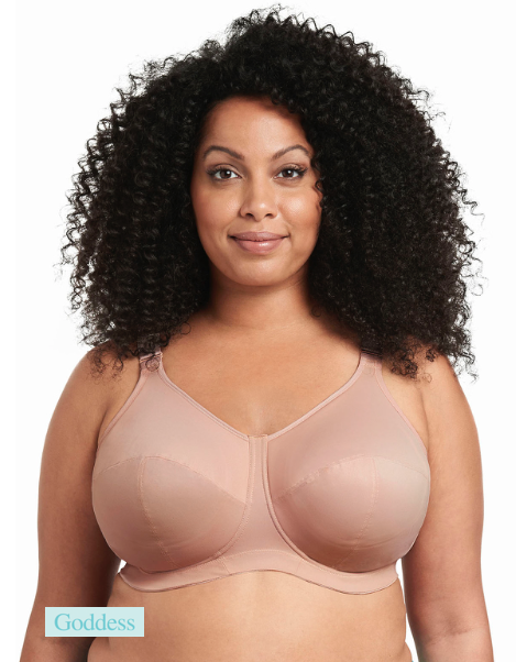 GODDESS GD6113FAN CELESTE NON UNDERWIRE FULL CUP BRA