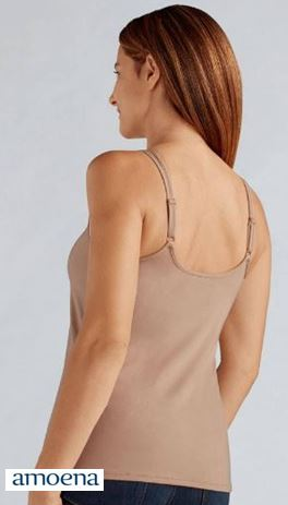 AMOENA 44075 VALLETTA SHELF BRA POCKET TOP