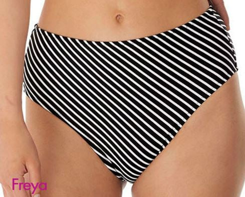 FREYA AS6795BLK BEACH HUT SWIMWEAR HIGH WAIST PANT
