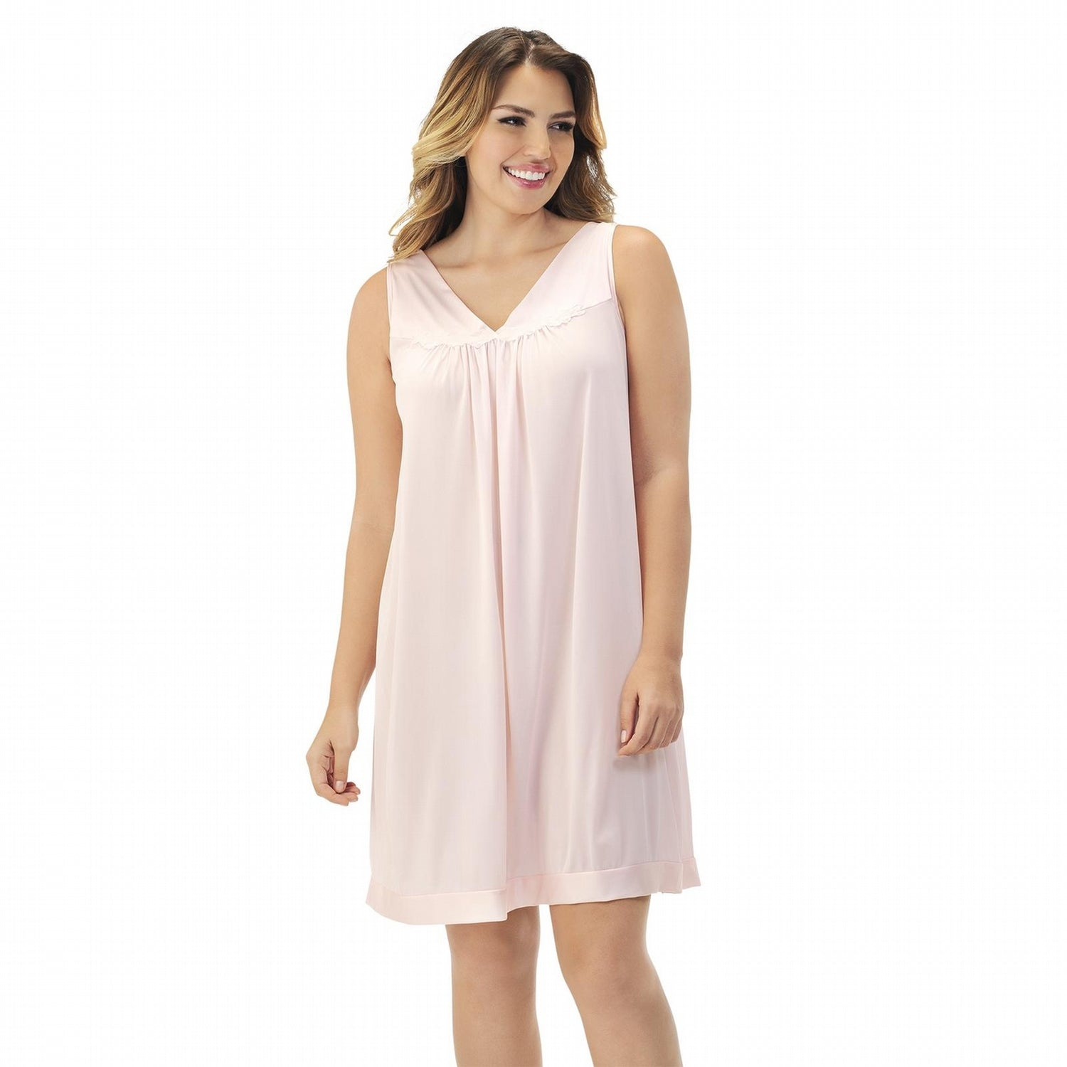 EXQUISITE FORM 30807 SHORT NIGHT GOWN