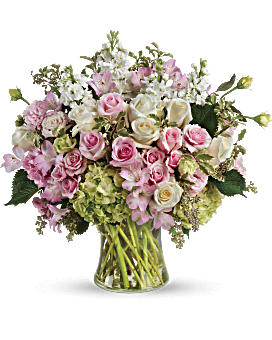 Lovely Spray Flowers - Johnathan Andrew Sage, Inc. - Houston Florist