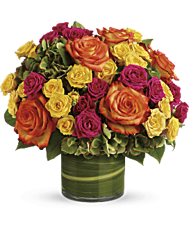 Mixed Pave' Flowers - Johnathan Andrew Sage, Inc. - Houston Florist