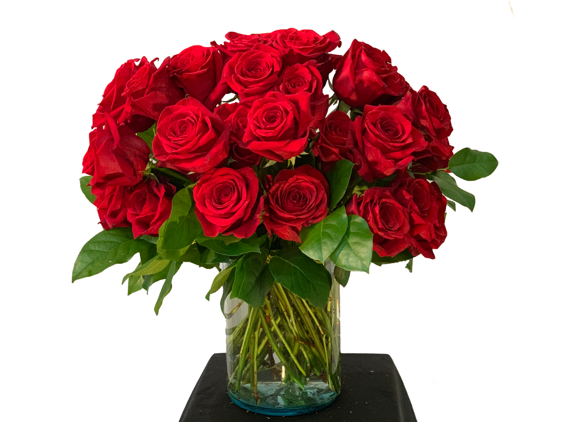 Simply More Red Flowers - Johnathan Andrew Sage, Inc. - Houston Florist