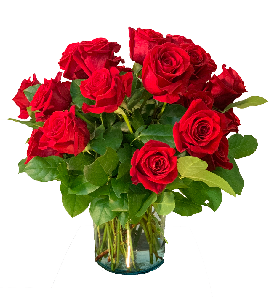 Simply Red Flowers - Johnathan Andrew Sage, Inc. - Houston Florist