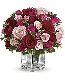 St. Valentines Splendor Flowers - Johnathan Andrew Sage, Inc. - Houston Florist