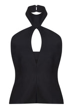 Boned Halter Top - 100% Wool