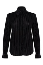 Velvet Striped Shirt