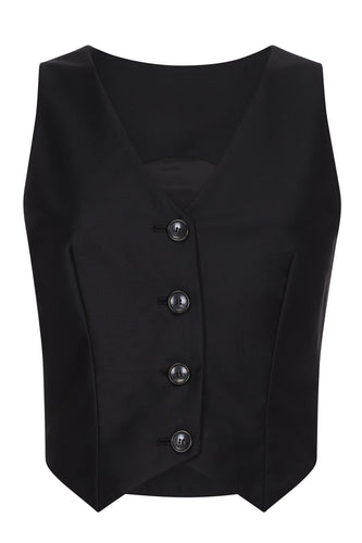 Buttoned Waistcoat