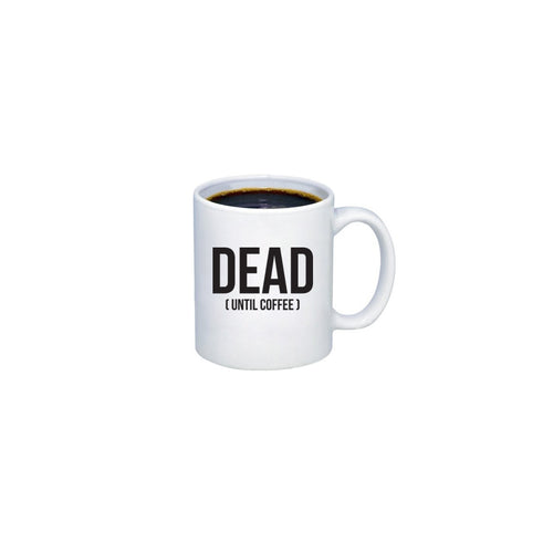 Mike's Dead Coffee Mug (10 LEFT)